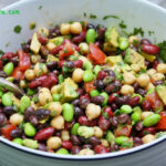 1 can black beans 1 can chickpeas 1 can kidney beans 2 ...