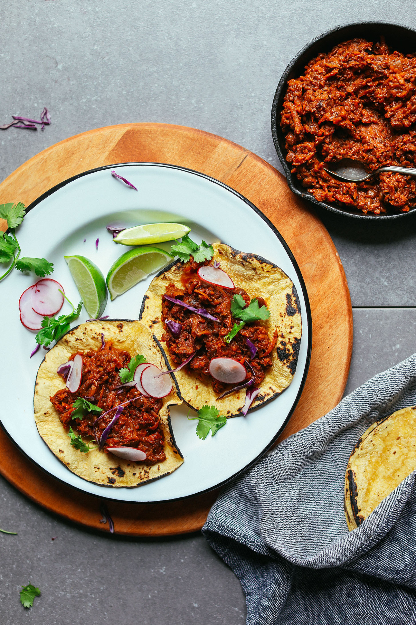 1-Pot Vegan Barbacoa | Minimalist Baker Recipes