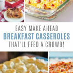 10 Amazing Make Ahead Breakfast Casseroles You'll Wish You …