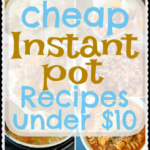 $10 Cheap Instant Pot Recipes For Families – Feeds Six!