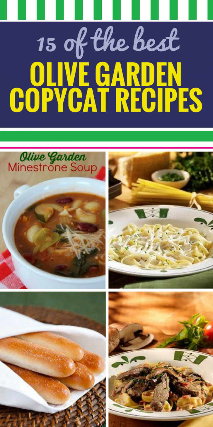 10 Copycat Olive Garden Recipes - My Life and Kids