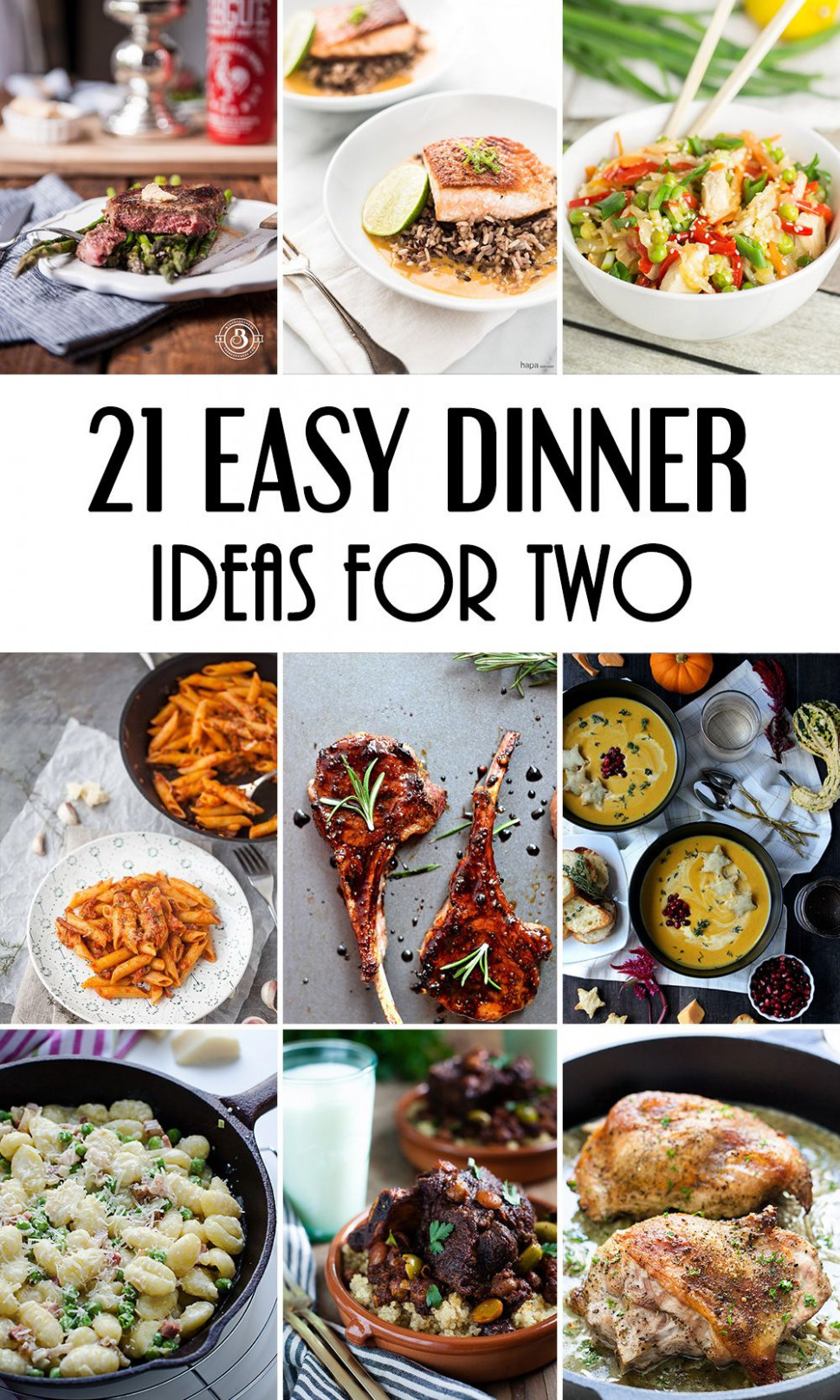 10 Easy Dinner Ideas For Two That Will Impress Your Loved …