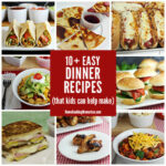 10+ Easy Dinner Recipes Kids Can Help Make – Home Cooking …