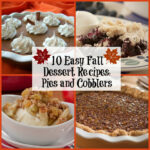 10 Easy Fall Dessert Recipes: Pies And Cobblers   MrFood