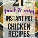 10+ Easy Instant Pot Chicken Recipes (pressure cooker ...