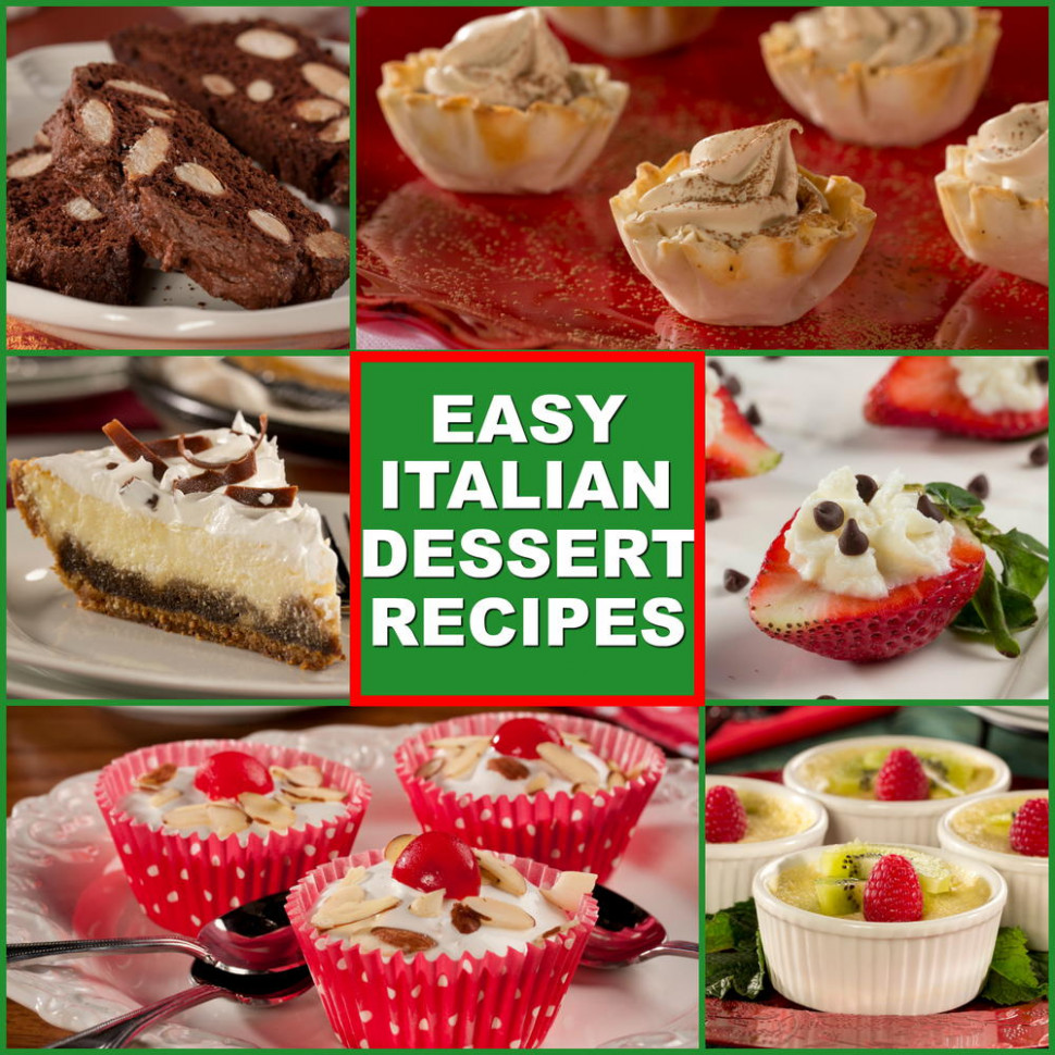 10 Easy Italian Desserts | EverydayDiabeticRecipes