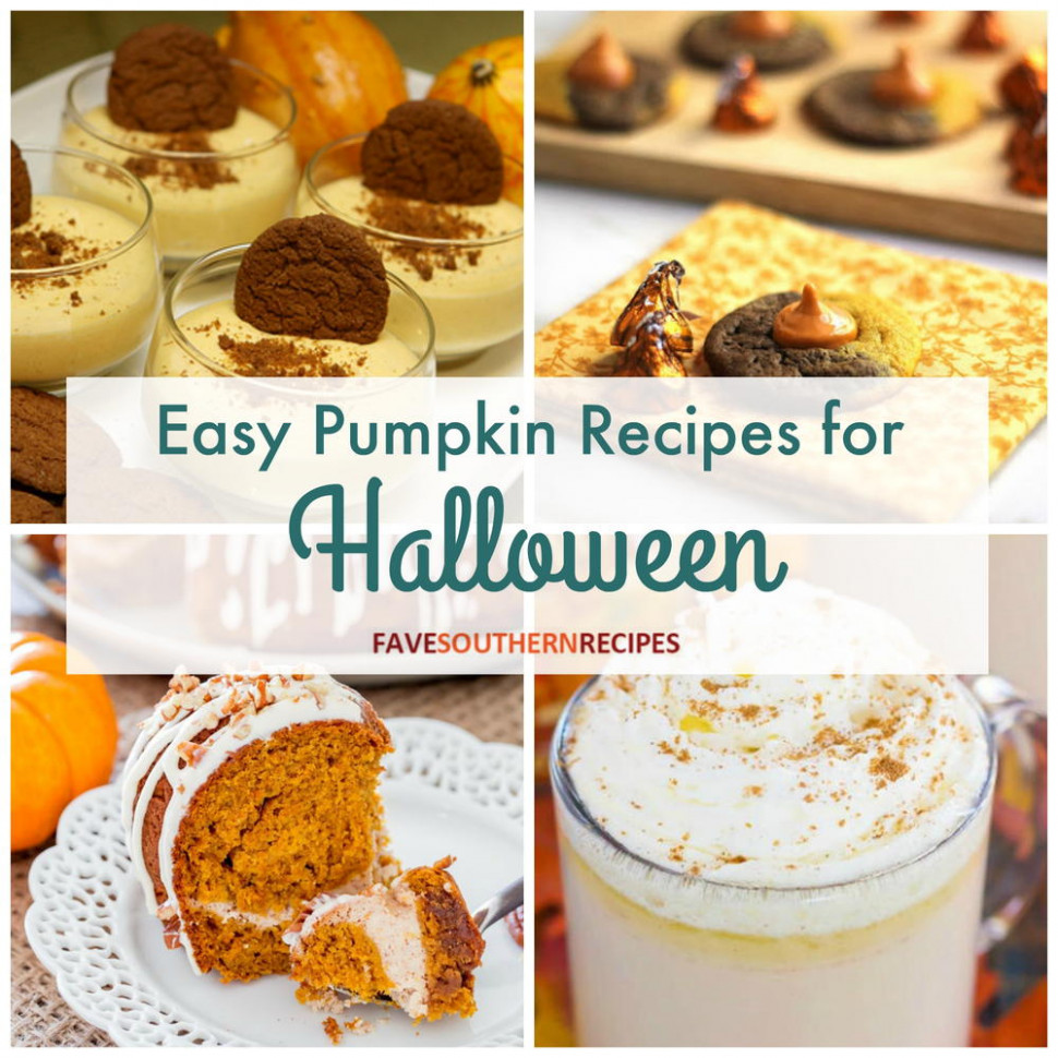 10 Easy Pumpkin Recipes for Halloween ...