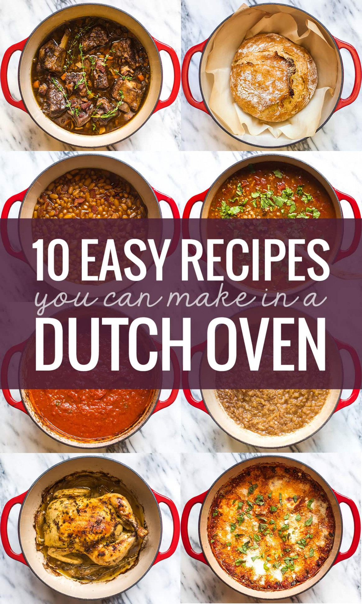 10 Easy Recipes You Can Make in a Dutch Oven | Pinch of ...