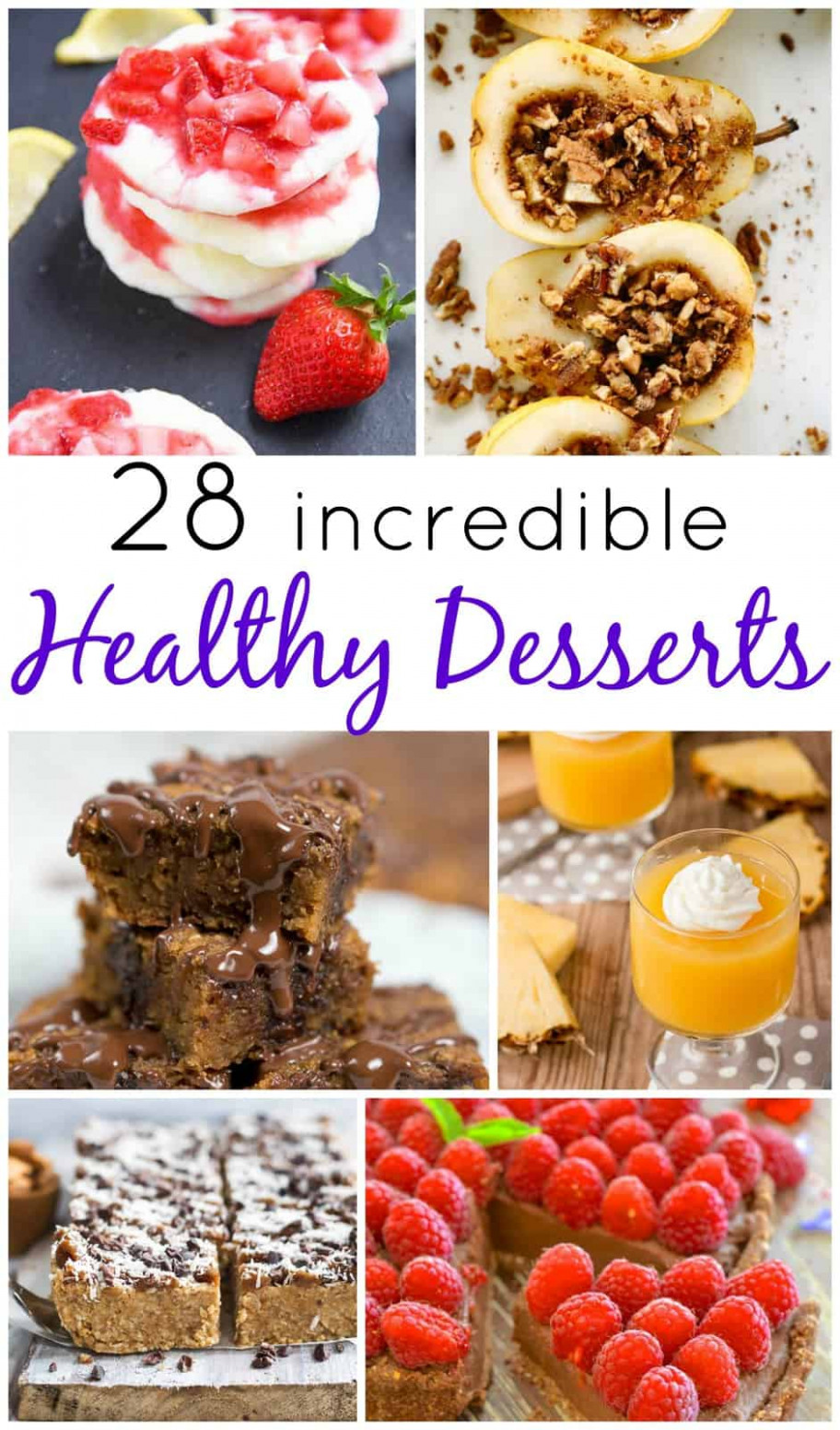 10+ Healthy Dessert Recipes - Bake Play Smile