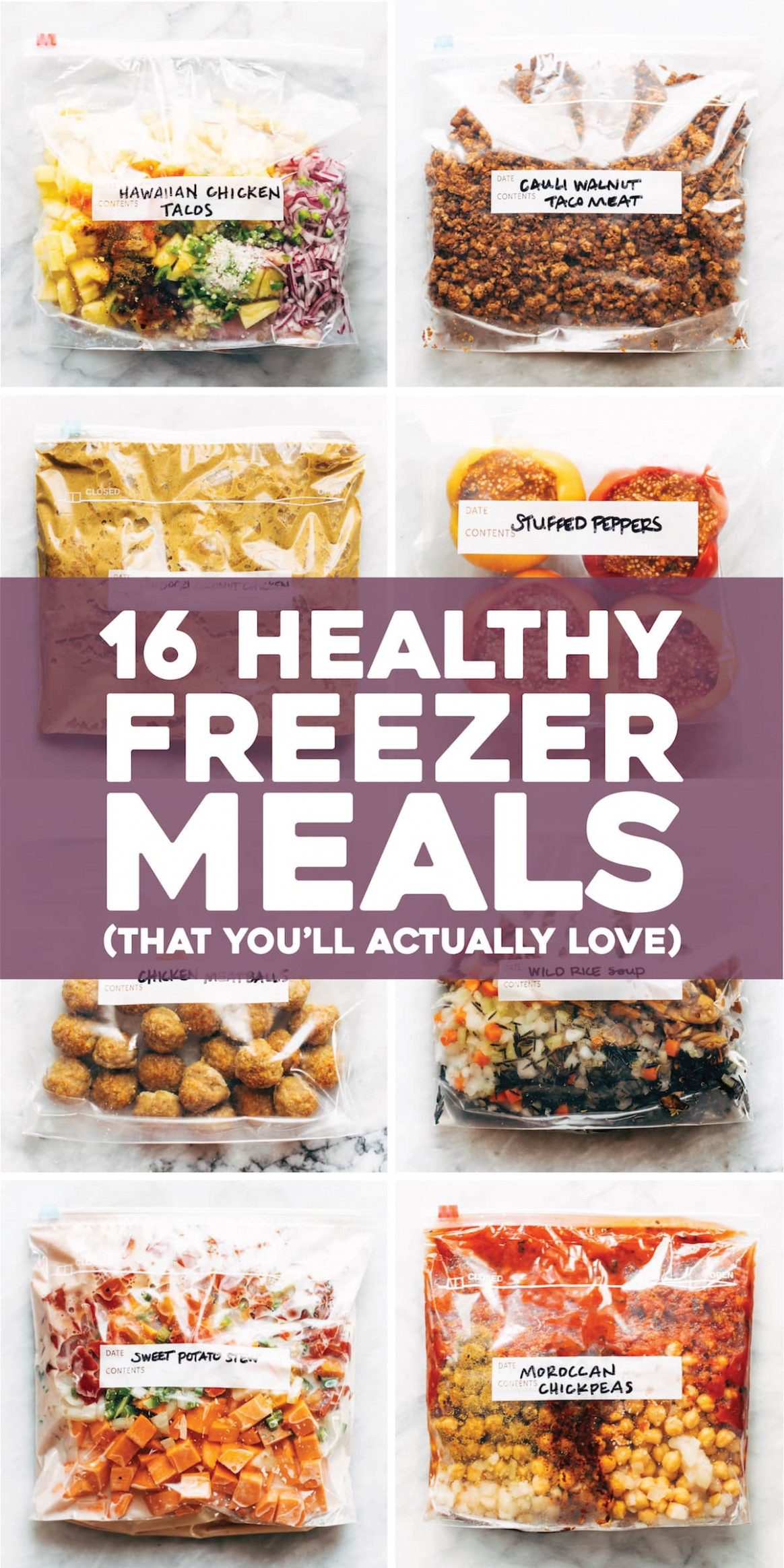 10 Healthy Freezer Meals (That You'll Actually Love) - Pinch ...