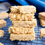 10 Ingredient No Bake Peanut Butter Granola Bars (Gluten Free …