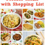 10 Kid Friendly Freezer Meals With Shopping List | Plain …