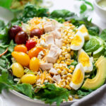 10 Minute Rotisserie Chicken Cobb Salad Recipe