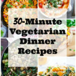 10 Minute Vegetarian Dinner Recipes – She Likes Food