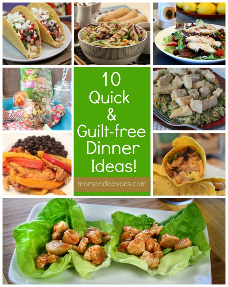 10 Quick & Guilt-Free Dinner Ideas with Tyson® Grilled ...