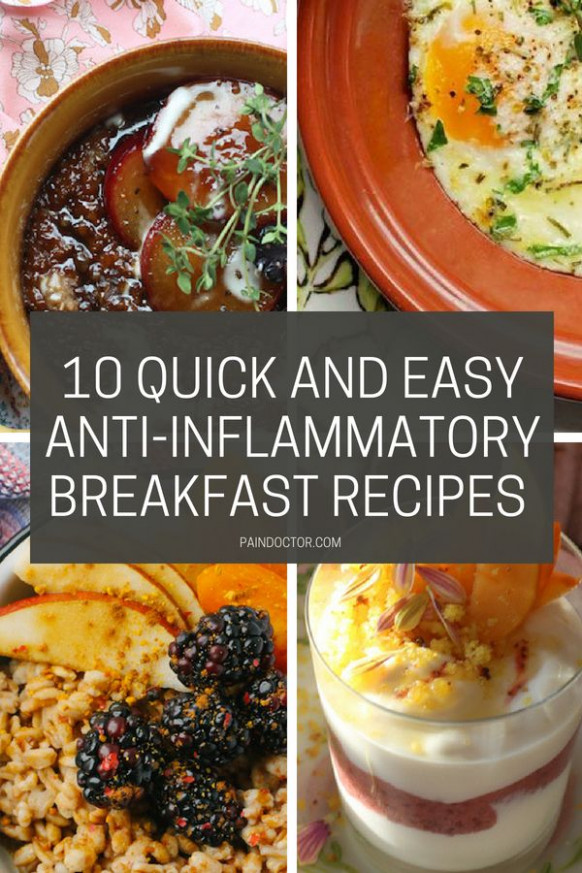 10 Quick And Easy Anti-Inflammatory Breakfast Recipes ...
