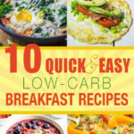 10 Quick And Easy Low Carb Breakfast Recipes | Living Chirpy