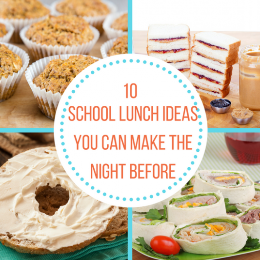 10 School Lunch Ideas You Can Make the Night Before - The ...