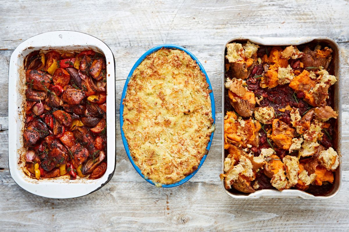 10 simple oven-baked dinners (Jamie Oliver (UK)) | Рецепты ...