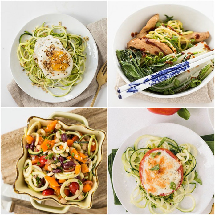 10 Spiralized Zucchini Recipes Under 300 Calories ...