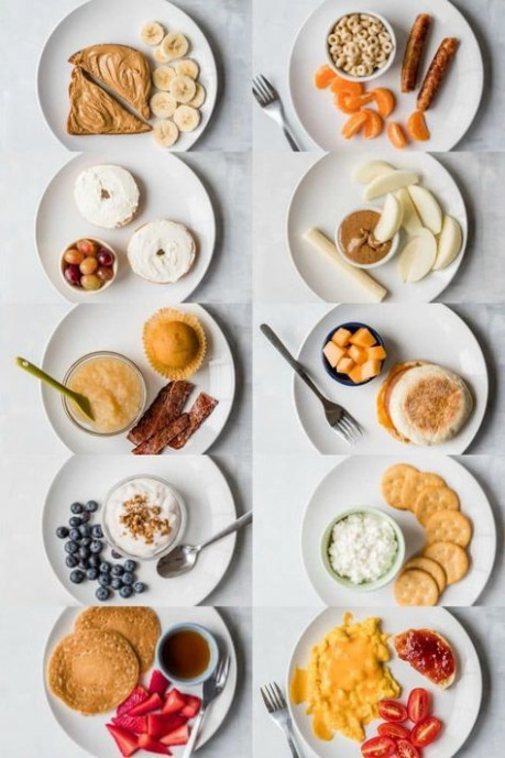 10 Toddler Breakfast Ideas - a photo of 10 different ...