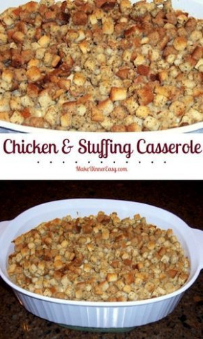 1000+ ideas about Chicken Stuffing Casserole on Pinterest ...