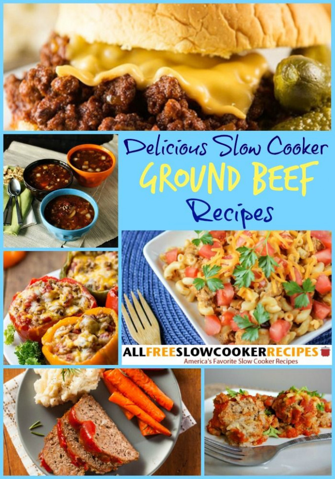 1000+ images about Slow Cooker Ground Beef Recipes on ...