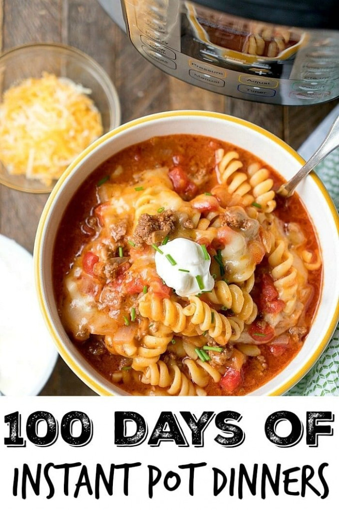 101+ Instant Pot Recipes + Step By Step Instructional Videos