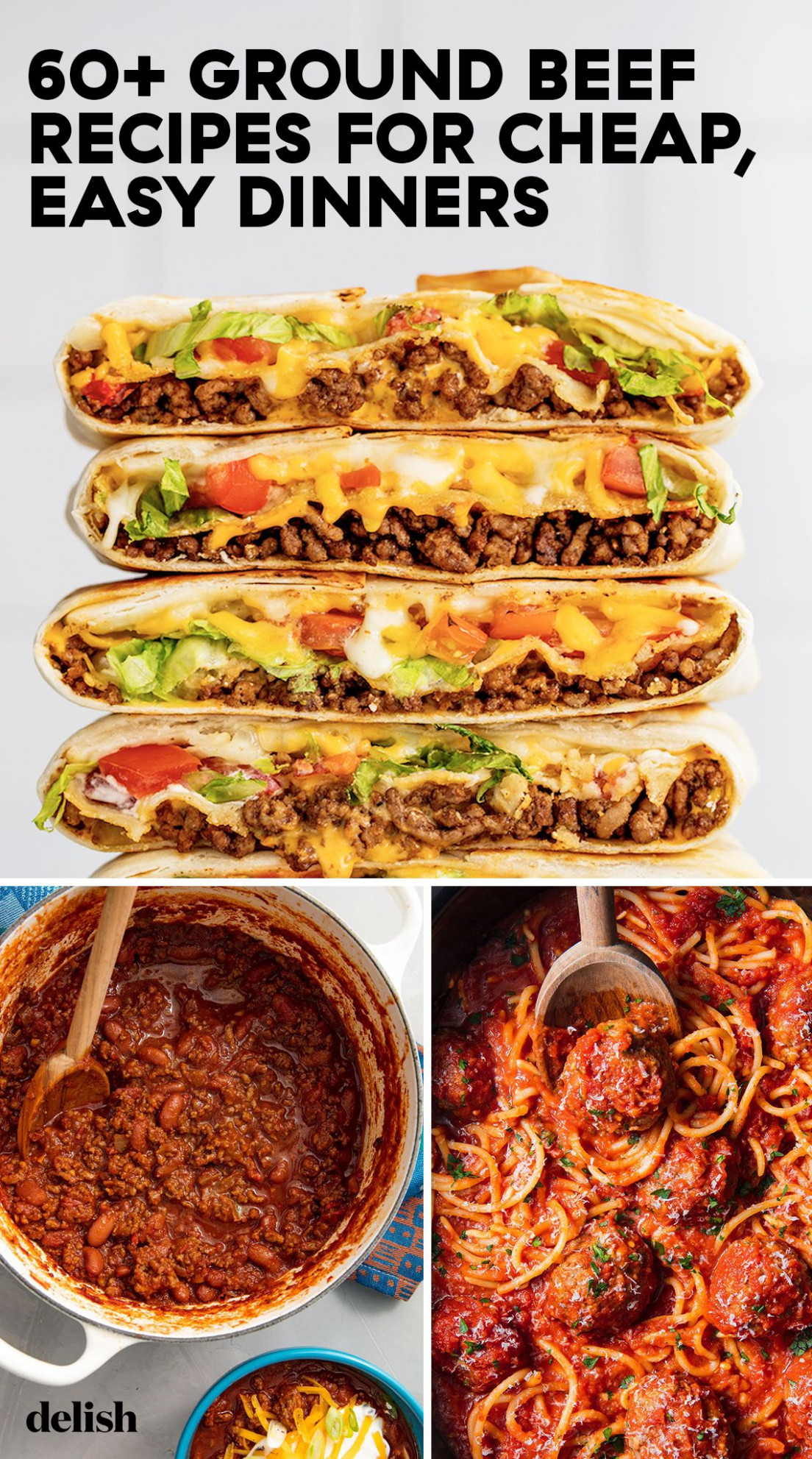 11+ Easy Ground Beef Recipes - What To Make With Ground Beef