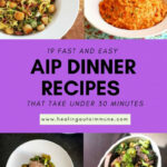 11 Fast And Easy AIP Dinner Recipes That Take Under 11 Minutes