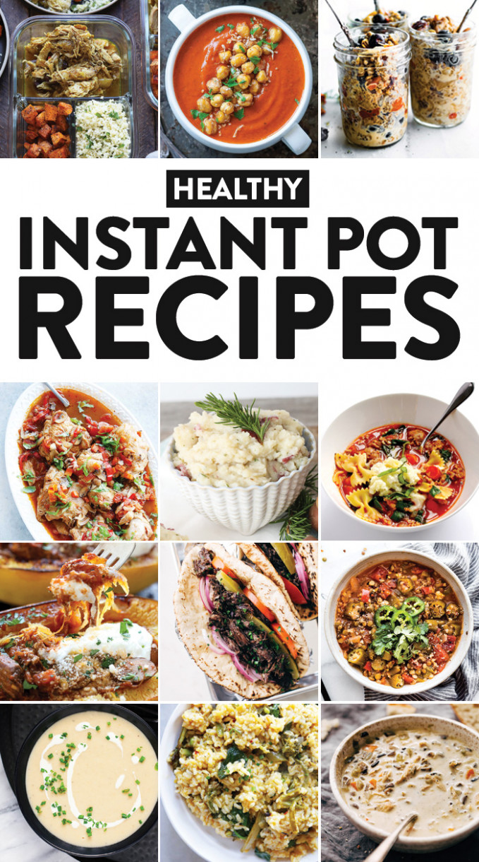 11 Healthy Instant Pot Recipes You Need in Your Life - Fit ...