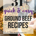 11+ Quick Ground Beef Recipes — Easy, Family Friendly …