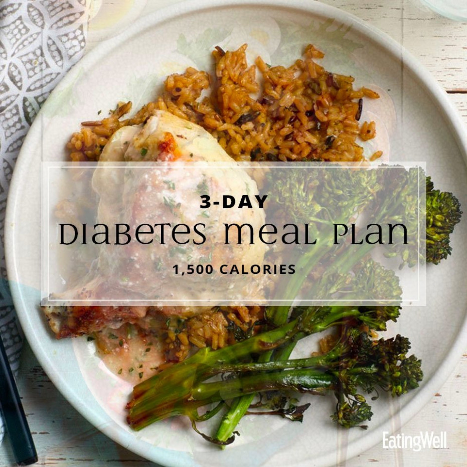1111 Day Diabetes Meal Plan: 11,11 Calories | EatingWell