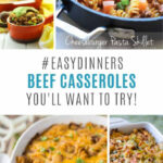 12 Easy Ground Beef Casserole Recipes For Budget Friendly …