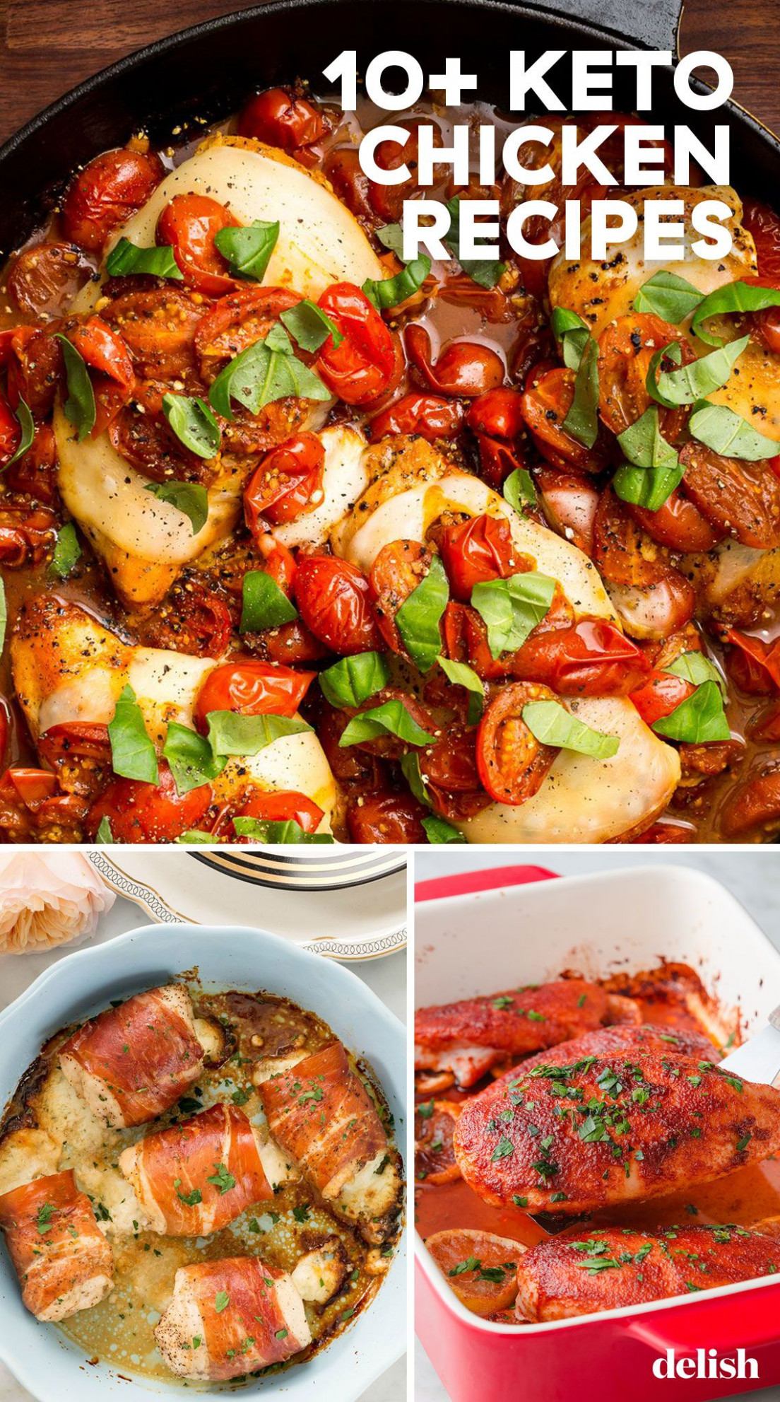 12+ Easy Keto Chicken Recipes - Best Ketogenic Chicken Ideas