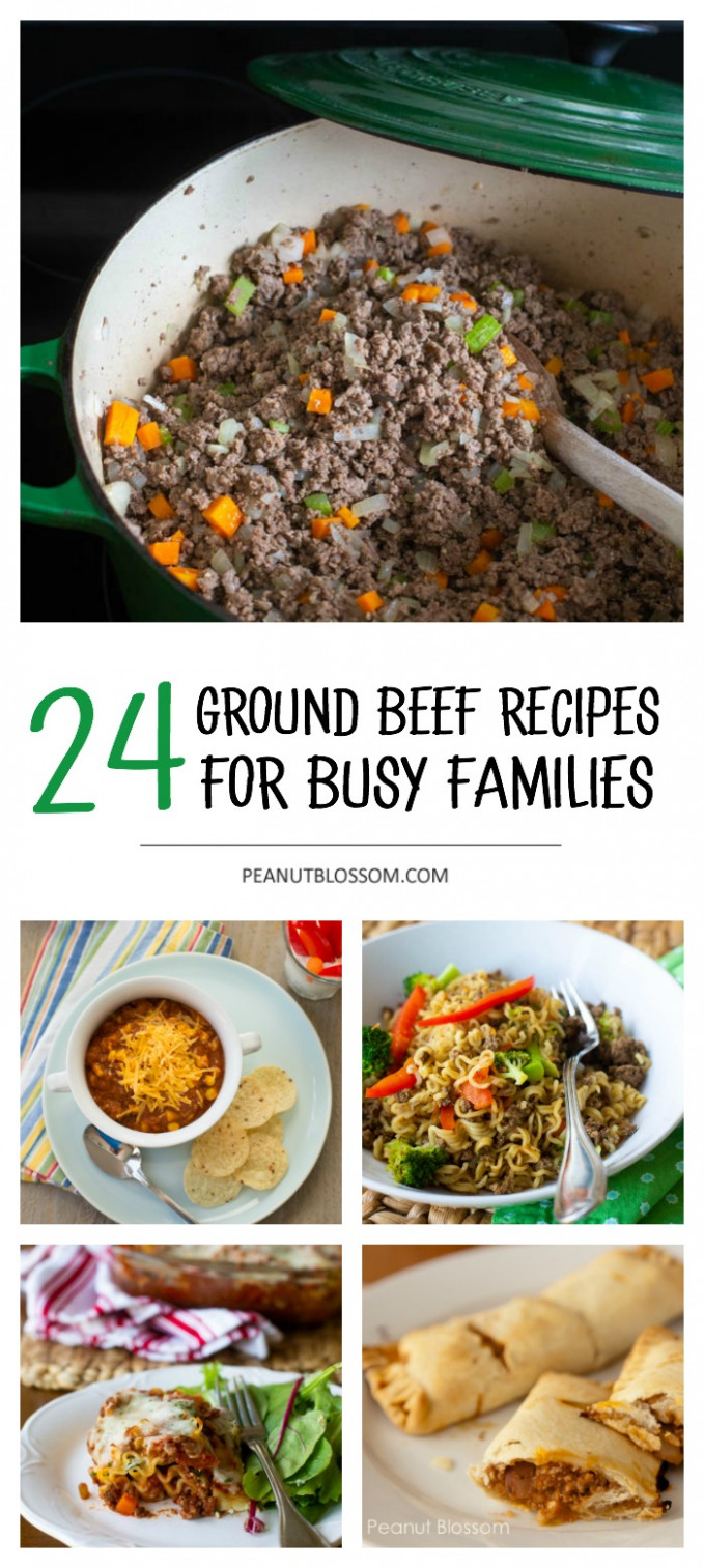 12 Ground Beef Recipes You Can Make In A Pinch