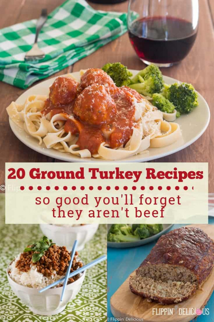 12 Ground Turkey Recipes so good you'll forget they aren't ...