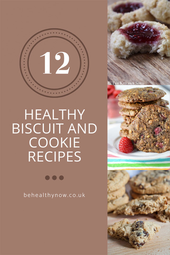 12 Healthy Biscuit and Cookie Recipes - Really Easy to Make!