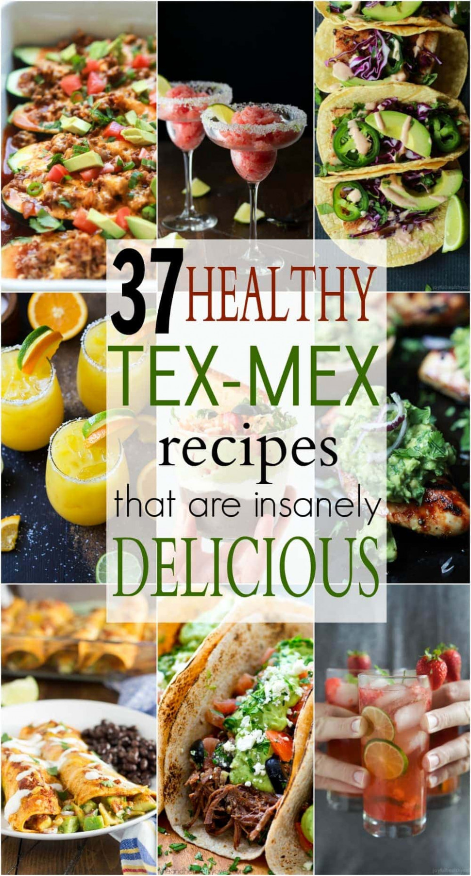 12 Healthy Tex-Mex Recipes that are Insanely Delicious ...