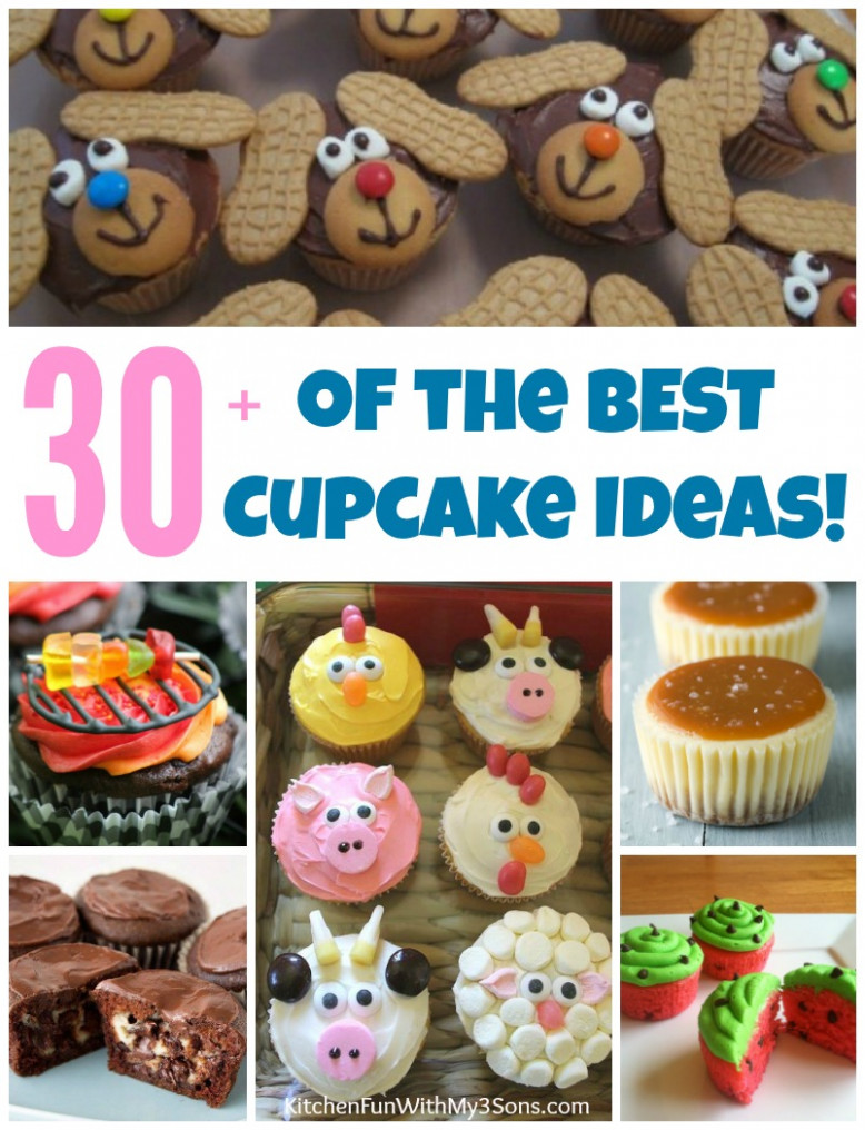 12+ of the BEST Cupcake Ideas & Recipes! - Kitchen Fun With ...