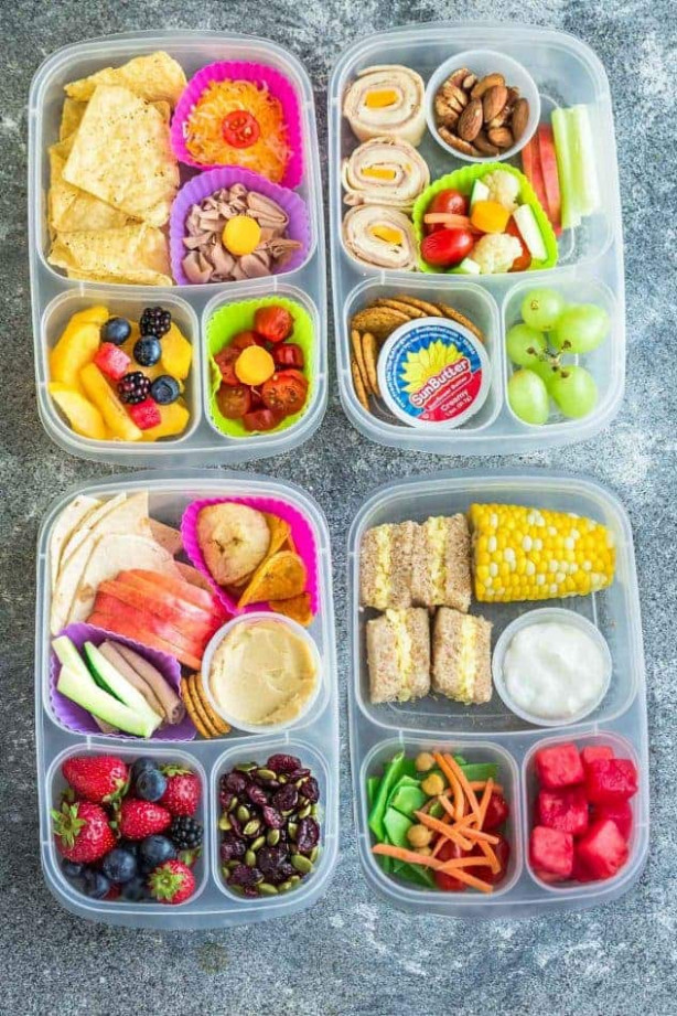 12+ School Lunch Ideas | Healthy & Easy School Lunches ...