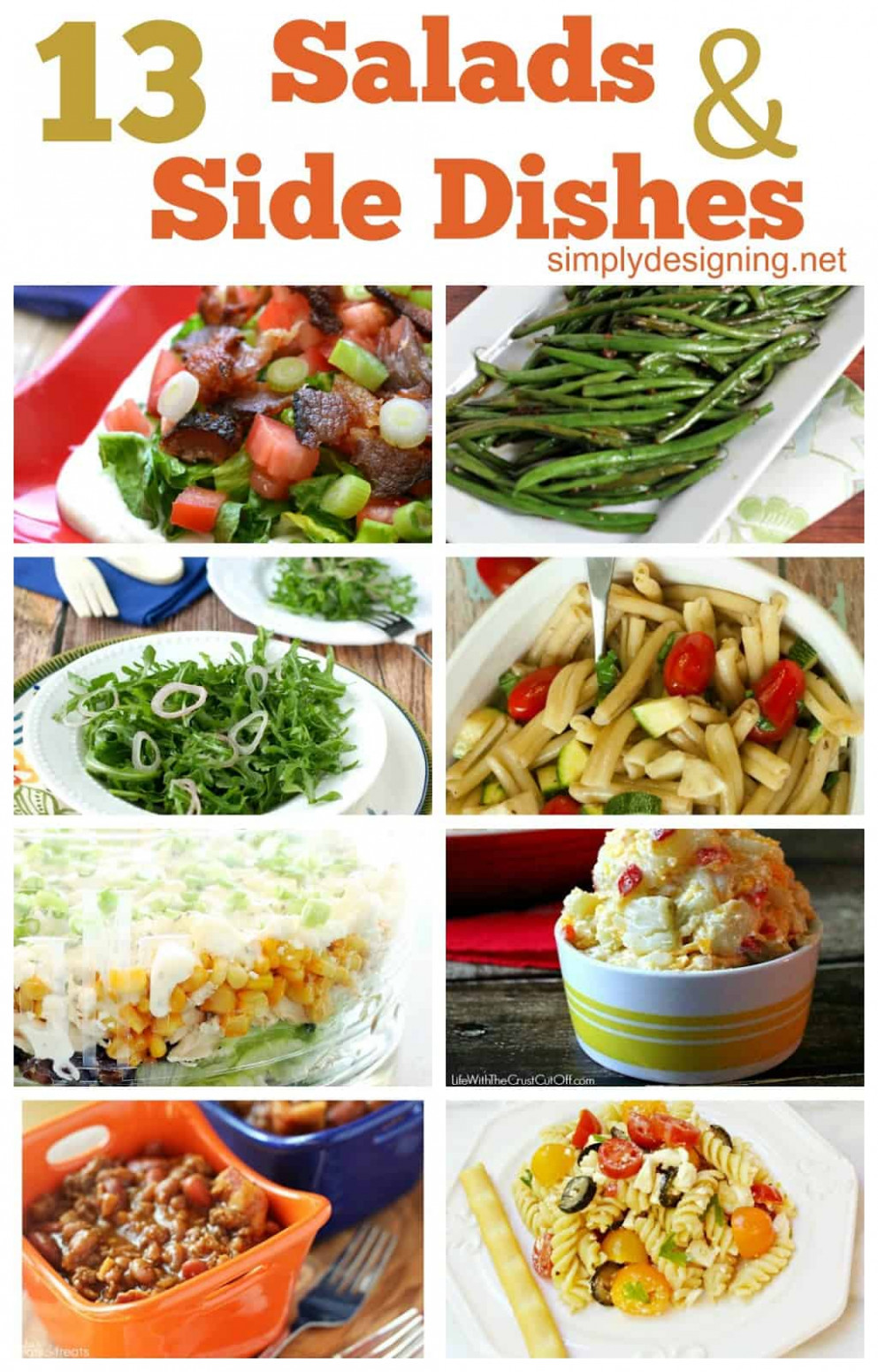 13 Salads & Side Dishes