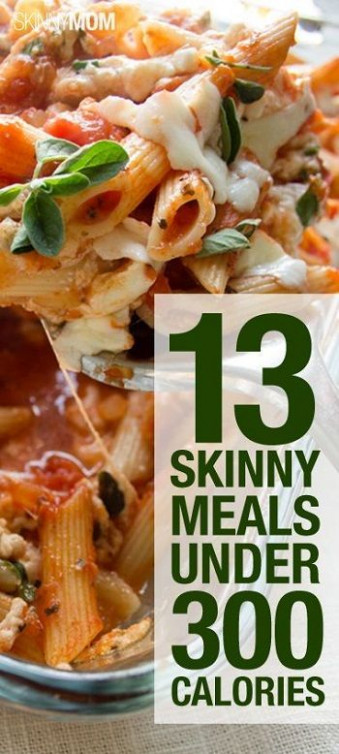 13 Skinny Dinners Under 300 Calories | Pepperoni, Pizza ...
