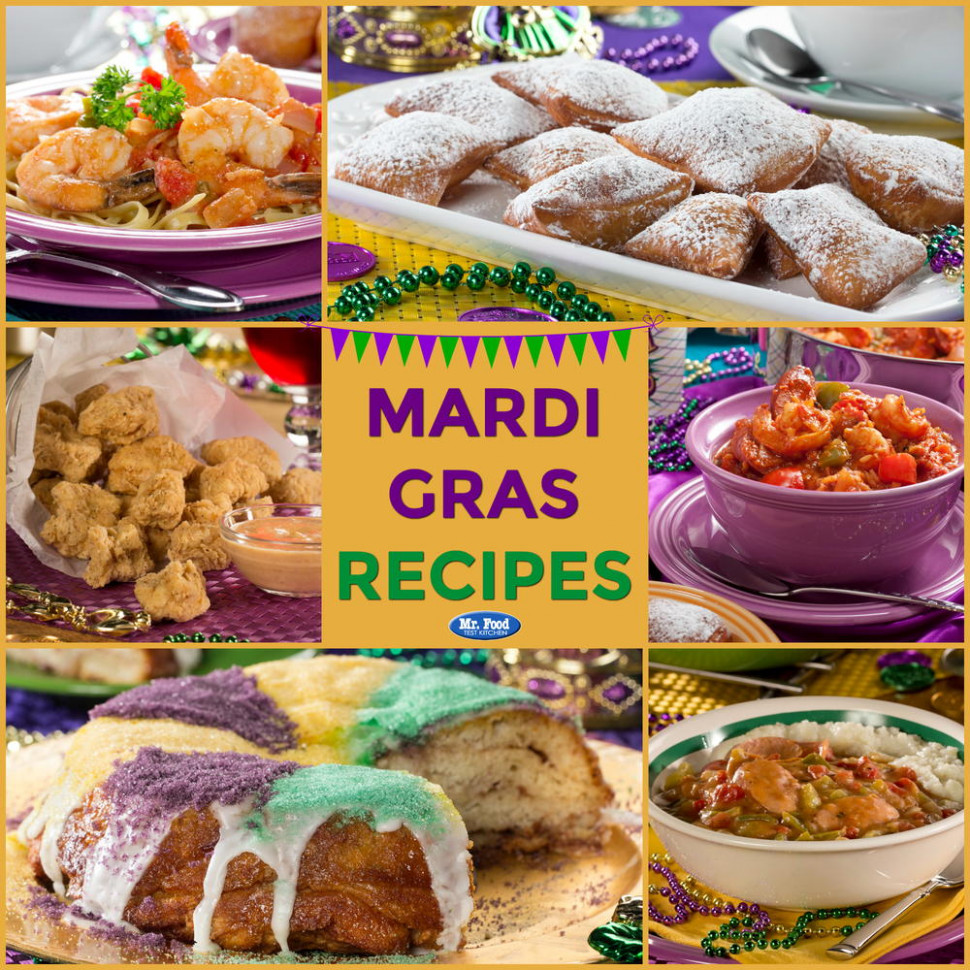 14 Quick & Easy Mardi Gras Recipes | MrFood.com