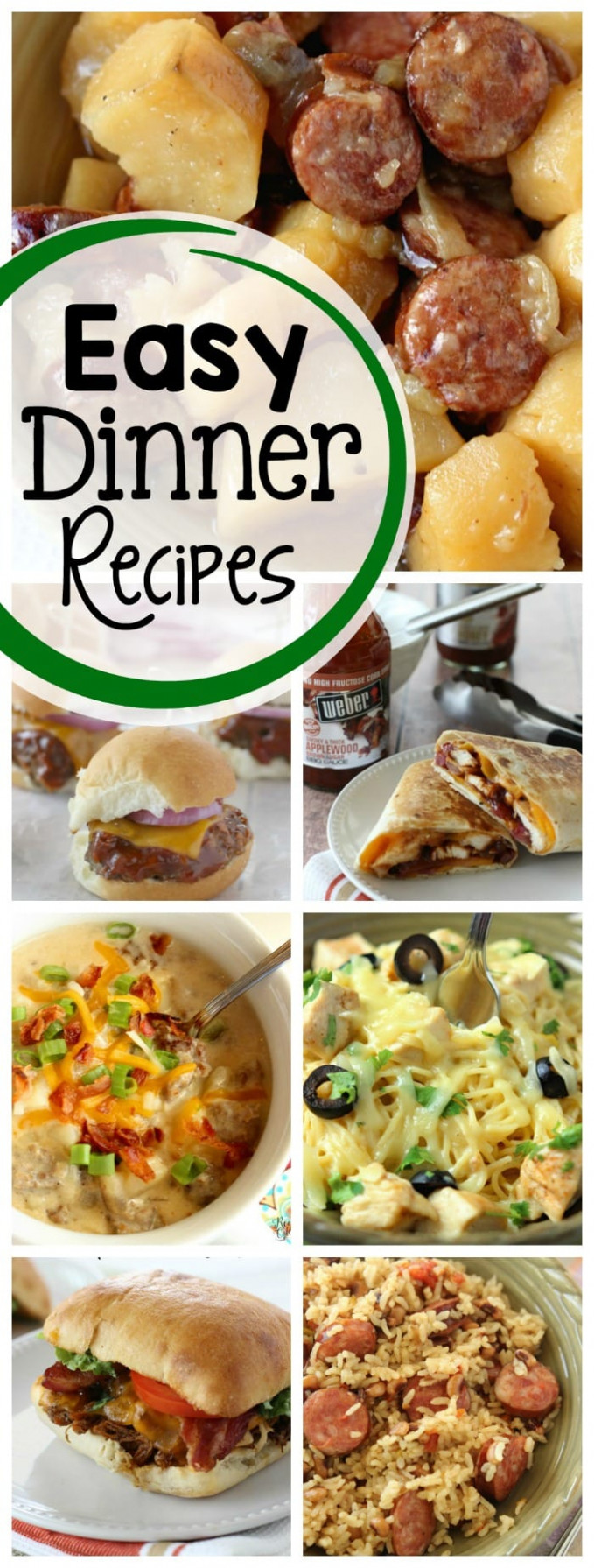 15 Best Weeknight Dinner Recipes - Diary of A Recipe Collector