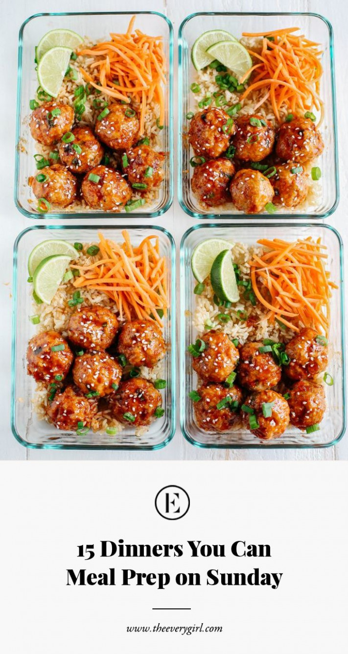 15 Dinners You Can Meal Prep on Sunday | Recipes to Try ...