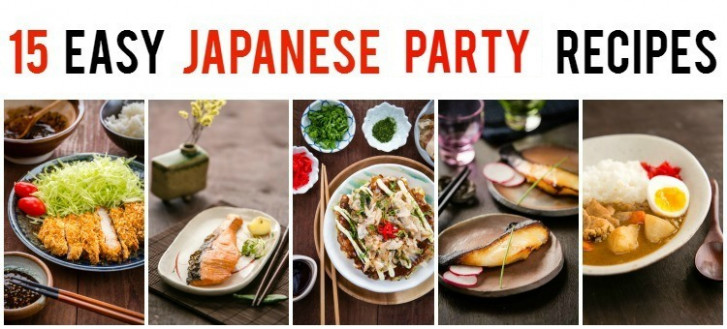 15 Easy Japanese Party Recipes • Just One Cookbook