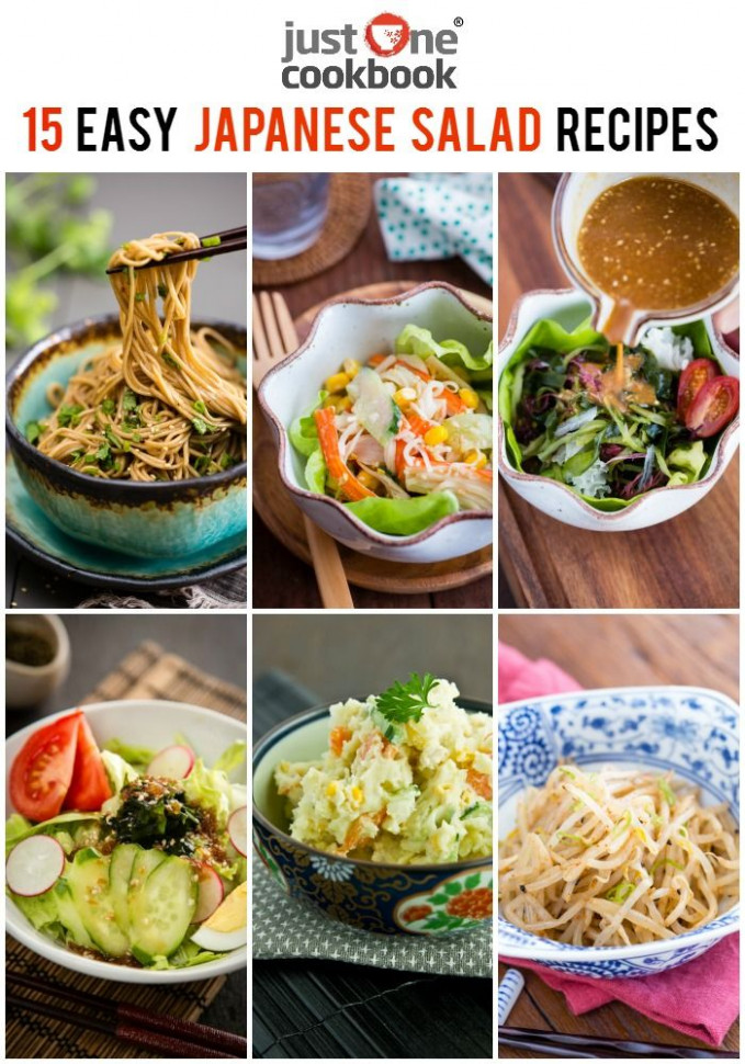 15 Easy Japanese Salad Recipes | Just One Cookbook ...