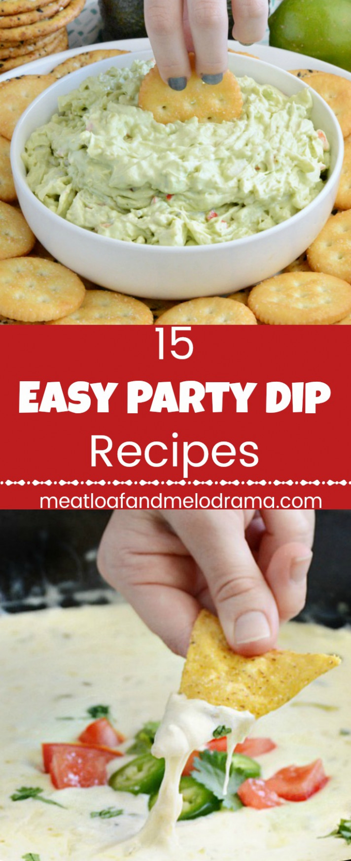15 Easy Party Dip Recipes - Meatloaf and Melodrama