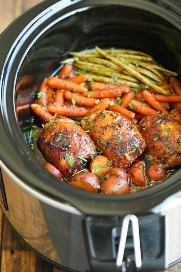 15 Easy Slow Cooker Chicken Recipes - thegoodstuff